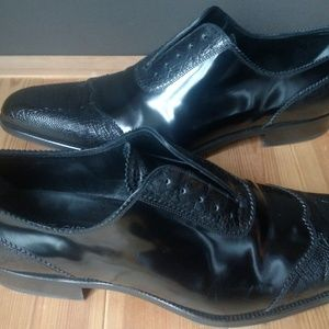 Dolce & Gabbana Shoes - DOLCE & GABBANA Ostrich Leg Oxfords Men's Size 11
